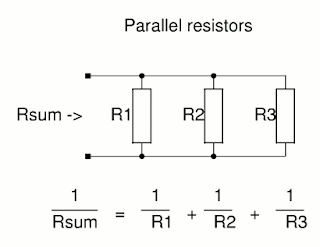 Resistance in a parallel circuit